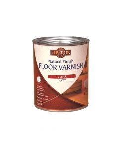 Liberon Natural Finish Floor Varnish Clear Satin 2.5 Litre - LIBFVWNCS25L