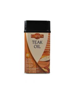 Liberon Teak Oil with UV Filters 1 Litre - LIBTOUV1L