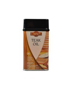 Liberon Teak Oil with UV Filters 500ml - LIBTOUV500