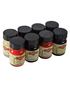 Liberon Concentrated Water Based Dye - Assorted Colours (15ml x 8) - LIBWBDASS