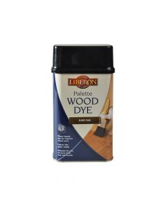 Liberon Palette Wood Dye Dark Oak 500ml - LIBWDPDO500