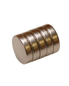 E-Magnets 656 Neodymium Disc Magnet 12mm (Pack of 5) - MAG656