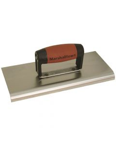 "Marshalltown 10 X 4 Stainless Steel  Edger-1/2"" Radius - DuraSoft Handle - M192SSD"