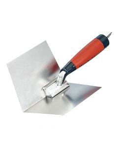 "Marshalltown 4"" x 5"" Thin Coat Corner Trowel - DuraSoft Handle - M23D"