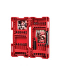 Milwaukee GEN II Shockwave Impact Duty Assorted Bit Set, 24 Piece - MIL464169