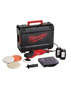 Milwaukee Polisher Set 200mm 1450W 240V - MILAP14ESET