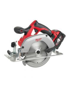 Milwaukee Circular Saw 165mm 18V 2 x 4.0Ah Li-Ion - MILHD18CS4