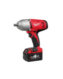 Milwaukee Pin Dedent 1/2in Impact Wrench 18V 2 x 4.0Ah Li-Ion - MILHD18HIW4