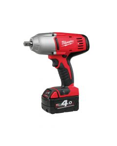 Milwaukee Friction Ring 1/2in Impact Wrench 18V 2 x 4.0Ah Li-Ion - MILHD18HIWF4