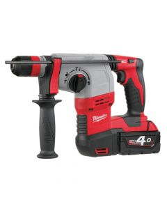 Milwaukee M18 HD18 HX-402 SDS Plus 3 Mode Rotary Hammer 18V 2 x 4.0Ah Li-Ion - MILHD18HX4