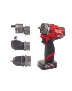Milwaukee M12 FPDXKIT-602X Fuel 3-in-1 Sub Compact Percussion Drill - MILM12FPDXKT