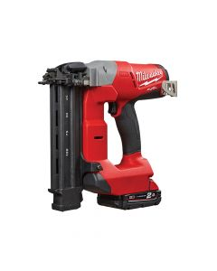 Milwaukee M18 CN18GS-202X Cordless Fuel 18G Straight Nailer 18V 2 x 2.0Ah Li-Ion - MILM18CN18G2