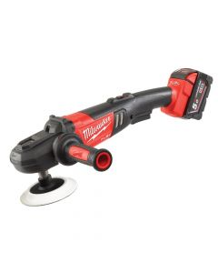 Milwaukee M18 FAP180-502X Fuel Cordless Polisher 180mm 18V 2 x 5.0Ah Li-Ion - MILM18FAP185