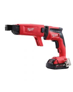 Milwaukee M18 FSGC-202X Fuel Screw Gun With Collated Attachment 18V 2 x 2.0Ah Li-Ion - MILM18FSGC2