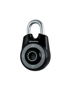 Master Lock One Directional Movement Combination 55mm Padlock - Black - MLK1500IBLK