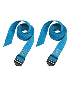 Master Lock Lashing Straps with Plastic Buckle 1.2m 2 Piece - MLK3004ECOL