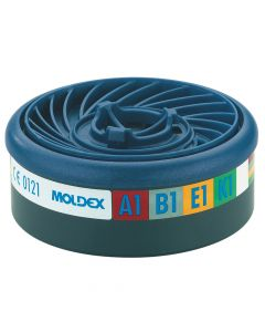 Moldex EasyLock ABEK1 Gas Filter Cartridge (Wrap of 2) - MOL9400