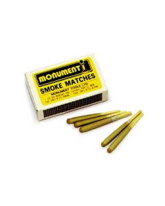 Monument Pack of 12 Smoke Matches - MON1471I1