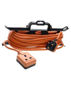 Masterplug Garden Extension Lead 240 Volt on H Frame 15 Metre - MSTCT1513