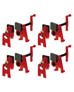 Bessey Pipe Clamping set BPC-H34 - QUAD PACK