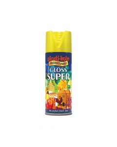 PlastiKote Super Gloss Spray Yellow 400ml - PKT1115