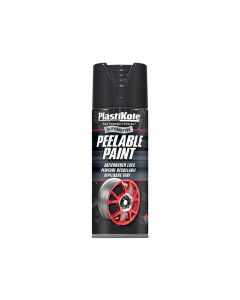 PlastiKote Peelable Paint Black Gloss 400ml - PKT116005