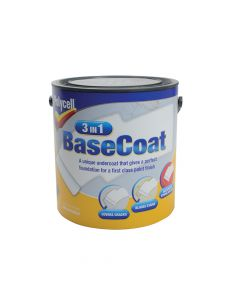 Polycell 3 in 1 Basecoat 2.5 Litre - PLC3IN1BC25L