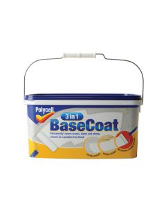 Polycell 3 in 1 Basecoat 5 Litre - PLC3IN1BC5L