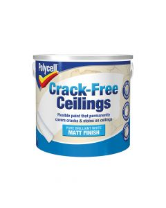 Polycell Crack-Free Ceilings Smooth Matt 2.5 Litre - PLCCFCSM25L