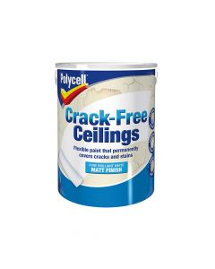 Polycell Crack-Free Ceilings Smooth Matt 5 Litre - PLCCFCSM5L
