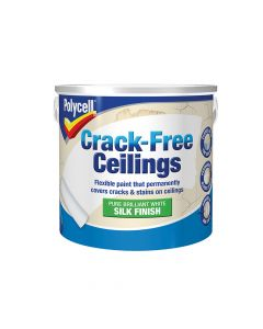 Polycell Crack-Free Ceilings Smooth Silk 2.5 Litre - PLCCFCSS25L