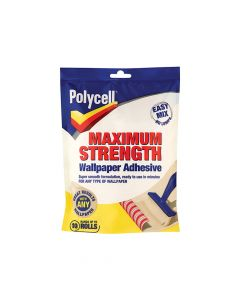 Polycell Maximum Strength Wallpaper Adhesive 10 Roll - PLCMSWPA10R
