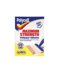 Polycell Maximum Strength Wallpaper Adhesive 20 Roll - PLCMSWPA20R