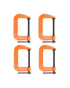"Pony Jorgensen 4"" C-Clamp Quad Pack"