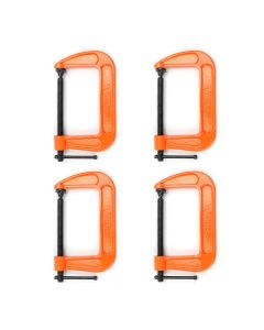 "Pony Jorgensen 5"" C-Clamp Quad Pack"