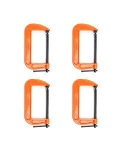 "Pony Jorgensen 6"" C-Clamp Quad Pack"