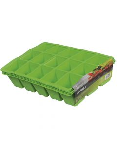 Plantpak Seed Tray Inserts 15 Cell (22 x Packs of 5) - PPK70200011