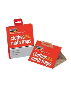 Pest-Stop Systems Clothes Moth Trap Twin Pack - PRCPSCMT