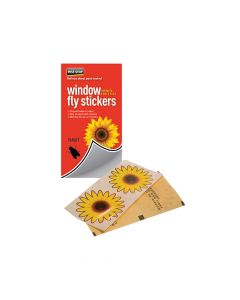 Pest-Stop Systems Window Fly Stickers Pack of 4 - PRCPSWFS
