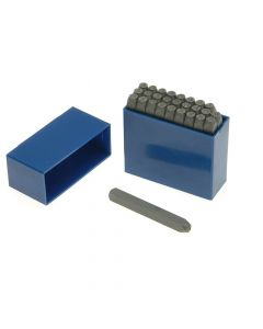 Priory 10.0mm Set of Letter Punches 3/8in - PRIL38