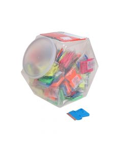 Personna Neon Plastic Mini Scraper Jar of 100 Single Blades - PSA660442CJA