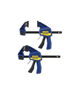 IRWIN Quick-Change Medium-Duty Bar Clamp 150mm (6in) Twin Pack - Q/G5062QCNTP