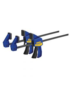 IRWIN Mini Bar Clamp Twin Pack 300mm (12in) - Q/G54122QCN
