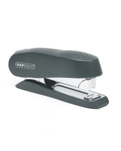 Rapesco Luna Half Strip Front Loading Stapler (black) - 0238