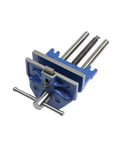 IRWIN Plain Screw Woodworking Vice 175mm (7in) & Front Dog - REC52PD