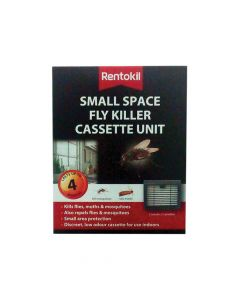 Rentokil Small Space Fly Killer Cassette Unit (Pack 2) - RKLFFS11