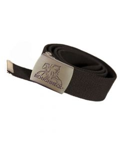 Roughneck Black Heavy-Duty Woven Belt - RNKBELT