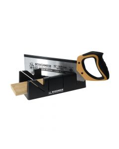 Roughneck Mitre Box & Hardpoint Tenon Saw Set 300mm (12in) - ROU34490