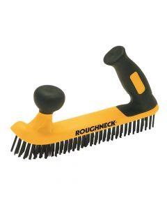 Roughneck Two Handed Wire Brush Soft-Grip - ROU52052