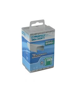 Rapid 10mm Galvanised Staples Poly Pack 5000 - RPD14010PP